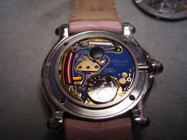ショパールの時計