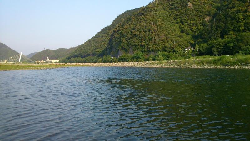 長良川での遊び