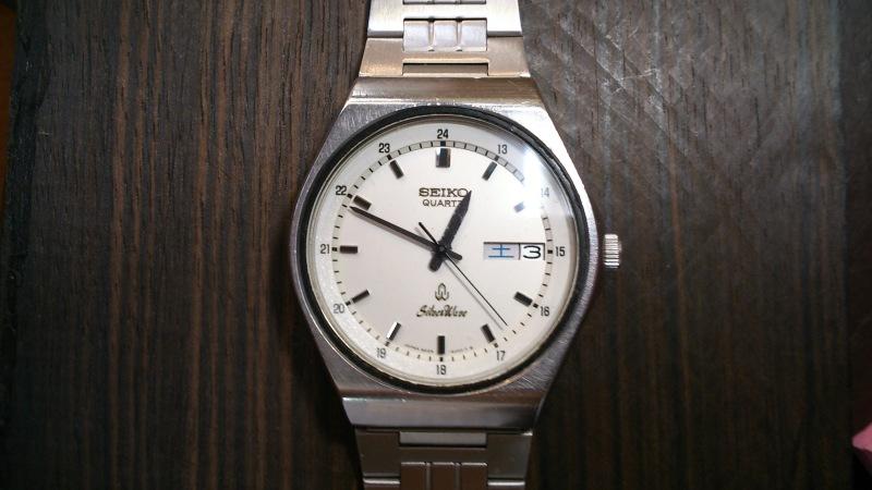 約40年前の時計です